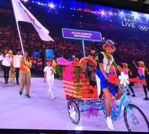 芸能・エンタメニュースブログ                                                                リオオリンピック開会式の先導自転車がかわいいと話題に!漕ぎ手も美男美女!画像あり!ブルンジに自転車がなかったのはなぜ?